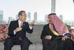 Secretary-General Meets Chairman of International Water Prize Committee 2.819757