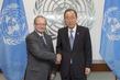 Secretary-General Meets President of International Criminal Tribunal for former Yugoslavia 2.819757