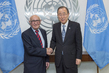 Secretary-General Meets President of Mechanism for International Criminal Tribunals 2.819757