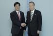 Secretary-General Meets Environment Minister of Republic of Korea 5.2900476