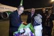 Secretary-General Arrives in Turkmenistan 3.6918085
