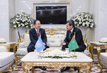 Secretary-General Meets Foreign Minister of Turkmenistan 3.6918085