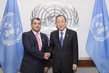 Secretary-General Meets President of Inter-Parliamentary Union 2.8190103