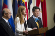 Representatives of Japan, Republic of Korea, US Brief Press 0.94252145