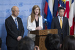 Three Permanent Representatives Brief Press on Non-Proliferation 3.190147