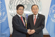 Secretary-General Meets Minister of Japan in Charge of Abduction Issue 0.38220495