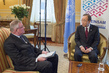 Secretary-General is Interviewed by Kronenzeitung