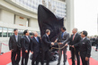 Sculpture Representing Anti-corruption Efforts Unveiled at UNOV 3.6911983