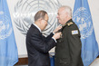 Secretary-General Swears in Military Adviser for Peacekeeping Operations 7.2513666