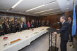 Secretary-General Hosts Holiday Reception for Senior Officials 0.66837806