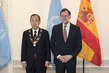 Spain Confers Decorations on Secretary-General, Senior Officials 4.3151274