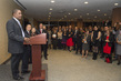 Secretary-General Hosts Staff Holiday Reception 4.3151274