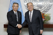 Secretary-General Meets Deputy Foreign Minister of Japan 2.818724