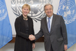 Secretary-General Meets Foreign Minister of Sweden 2.818724