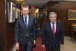 Secretary-General Meets Foreign Minister of Latvia 1.0