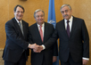 Secretary-General Meets Cypriot Leaders in Geneva 2.8184729