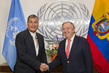 Secretary-General Meets President of Ecuador 1.0