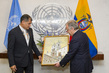 Secretary-General Meets President of Ecuador 2.8162038