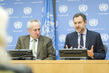 Regional Humanitarian Coordinator for Sahel Briefs Press