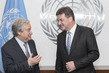 Secretary-General Meets Foreign Minister of Slovakia 1.0