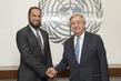 Secretary-General Meets His Humanitarian Envoy 2.8188097