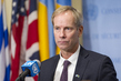 Security Council President Briefs Press on Syria 1.0056154