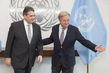 Secretary-General Meets Meets Foreign Minister of Germany 2.8188097