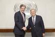 Secretary-General Meets Permanent Representative France 2.817919