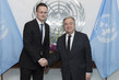 Secretary-General Meets Foreign Minister of Hungary