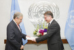 New Permanent Representative of Cyprus Presents Credentials