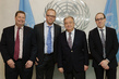 Secretary-General Meets Heads of Press Freedom Organizations