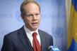 United Kingdom Representative Speaks to Press on Syria 0.010042519