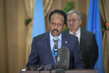 President of Somalia Briefs Press During Secretary-General's Visit to Somalia 2.8227365