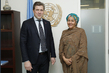 Deputy Secretary-General Meets Prime Minister of Iceland 7.2486277