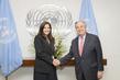 Secretary-General Meets Mayor of Paris 1.0