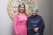 Deputy Secretary-General Meets Queen of Netherlands 7.2486143