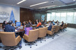 Secretary-General Meets Co-Chairs of Women's Economic Empowerment Panel 2.8206043