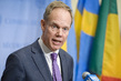 Security Council President Briefs Press on Middle East 1.0