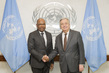 Secretary-General Meets Foreign Minister of Democratic Republic of Congo 2.8206043