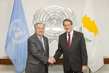 Secretary-General Meets President of Cyprus 2.8207662