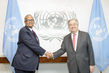 Secretary-General Meets Foreign Minister of Somalia