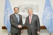 Secretary-General Meets Foreign Minister of Afghanista