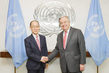 Secretary-General Meets Head of Climate Change Panel 2.8207662