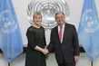 Secretary-General Meets Foreign Minister of Sweden