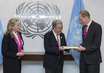 Representative of Colombia Presents Final Peace Agreement to UN 2.8215506