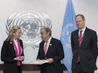 Representative of Colombia Presents Final Peace Agreement to UN