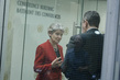 Ms. Irina Bokova, Director-General, UNESCO gives a brief interview after the SCso 0.029864054