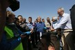 Secretary-General Visits Zaatari Refugee Camp in Jordan