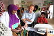 SRSG for Somalia, Michael Keating, Visits Hargelsa 3.5296917