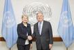 Secretary-General Meets Director-General of UNESCO 1.0